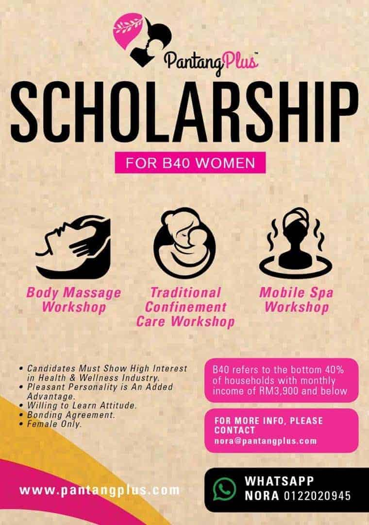 Biasiswa Scholarship PantangPlus